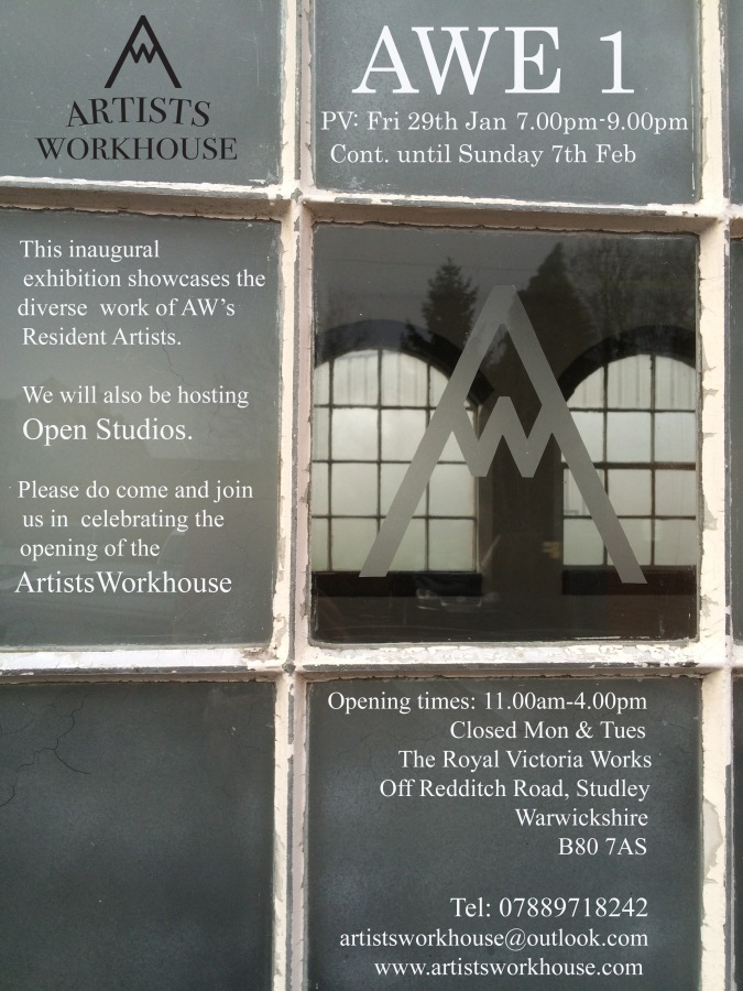 Opening Event – AWE 1 at Artists Workhouse