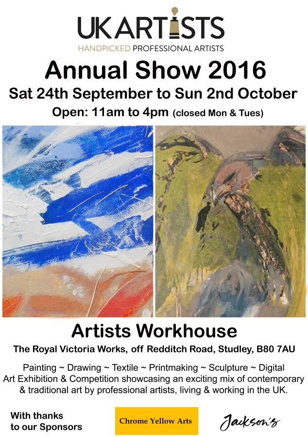 UK Artists Annual Show 2016