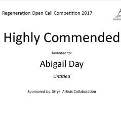 Highly Commended Regeneration - Abigail Day