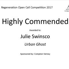 Highly Commended Regeneration julie swinsco