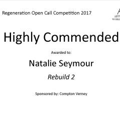 Highly Commended Regeneration - natalie Seymour