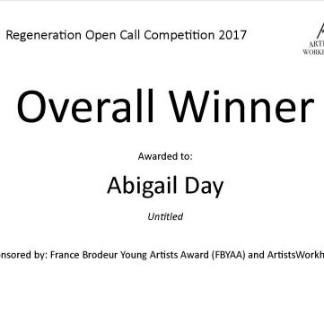 Overall Winner - Abigail Day