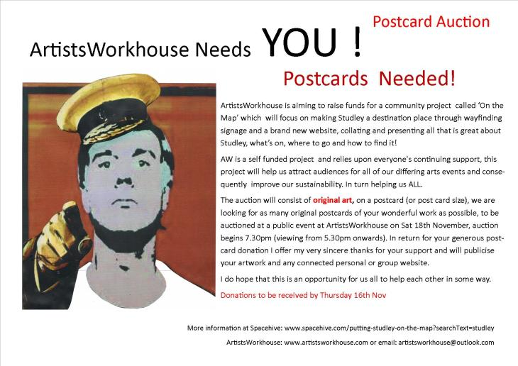 postcards needed