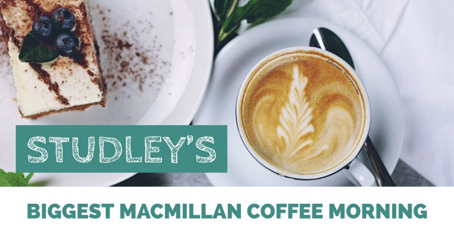 Studley's Biggest MacMillan Coffee Morning