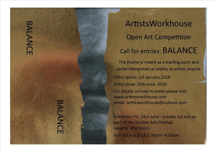 Balance Open Art Competition 2018