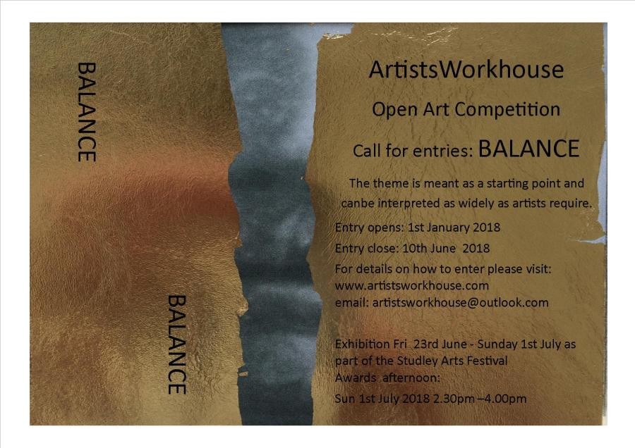 'Balance' Open Art Competition
