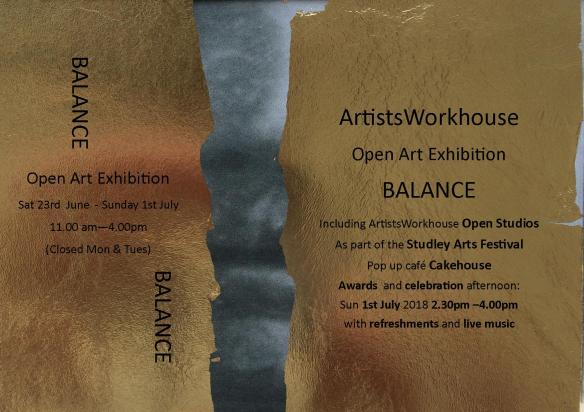 BALANCE – Open Art Competition 2018 | ArtistsWorkhouse
