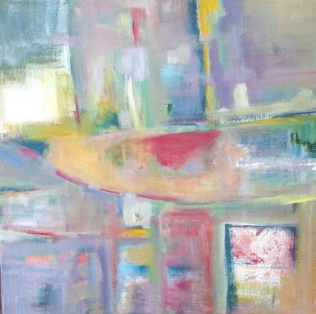 ZARINA KEYANI URBAN MYTH 2 Acrylic on Canvas 50cm x 50cm 2017 750px (1)