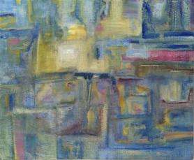 ZARINA KEYANI URBAN MYTH 3 Acrylic on Canvas 50cm x 40cm 2017 750px