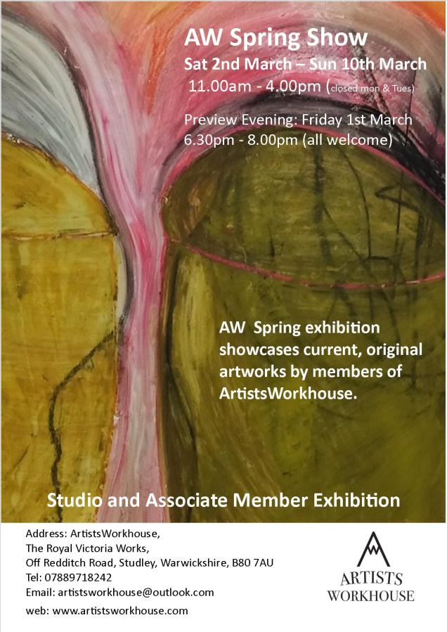 Artistsworkhouse Members SpringShow