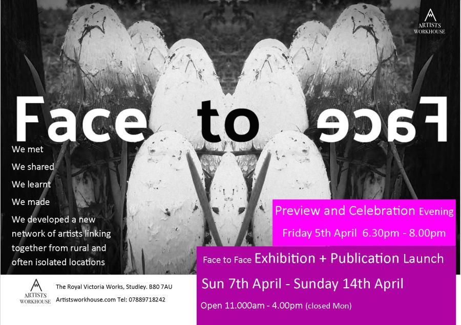 Face to Face Exhibition and Publication Launch