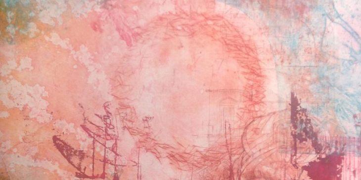 Jain Mackay - Mixed media experimental painting